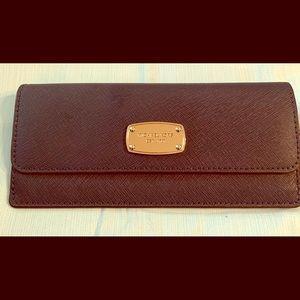 Jet set slim wallet